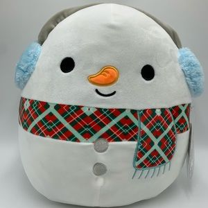 Squishmallow Manny Christmas Winter Holiday, w/Tag